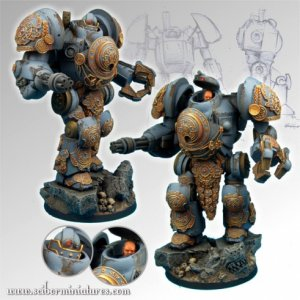 what i am going to us for my contemptor pattern dreadnought