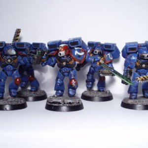 Ultramarines assault squad