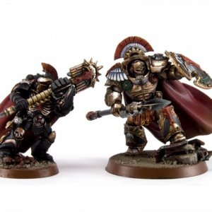chaplain and first company captain