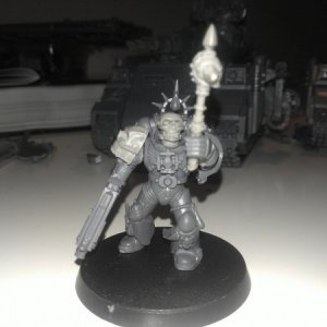 Another Chaplain to satisfy my fetisj, Chaplain Ammadus is one of the many self built Chaplain I have.
