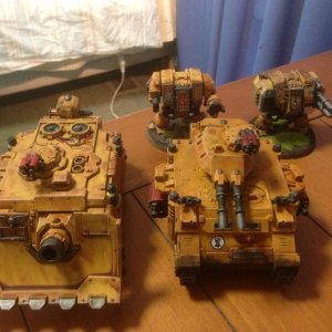 Imperial Fists Heavy Support.