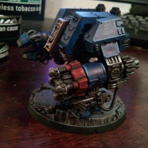 Crimson Fists Ironclad Dreadnought WIP