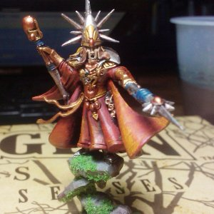 High Elves Mage (Front)