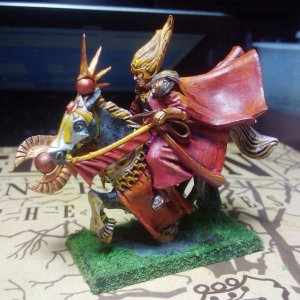 High Elves Mage Mounted (Side 1)