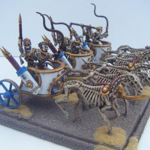 Tomb Kings Chariots.