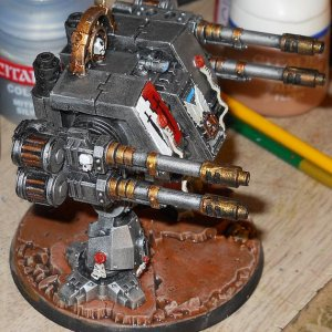 Grey Knight Riflemen Dreadnought