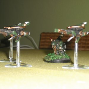 Tau Empire Sniper Drone Team