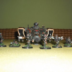 Tau Empire Pathfinder Squad