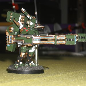 Tau Empire XV88 Broadside Battlesuit Conversion