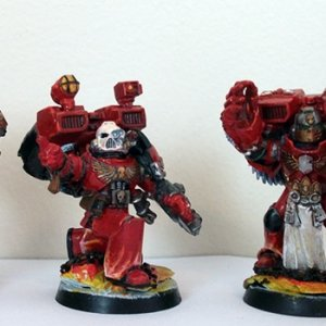 Honour Guard with Librarian and Chaplain