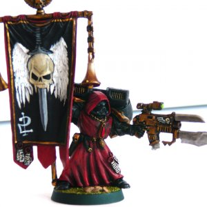 "Blood Sin Honor Guard ""The Unforgiven"" Standard Bearer"
