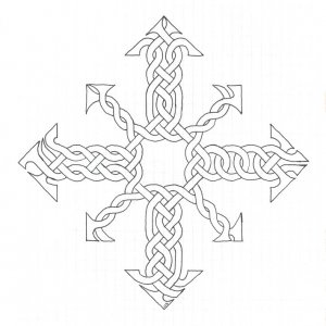 Knotwork Arrows of Chaos