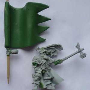 Empire Captain Battle Standard Bearer