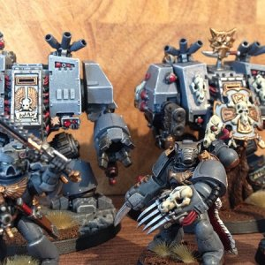 Deathwolfs Great Company Heresy Era Space Wolves