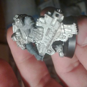 Legion of the Damned Heavy Bolter Front Bolter View