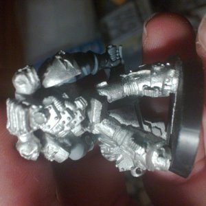 Legion of the Damned Heavy Bolter Back