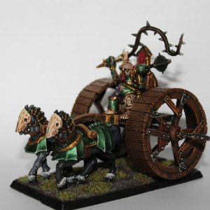 Nurgle Lord on Chariot