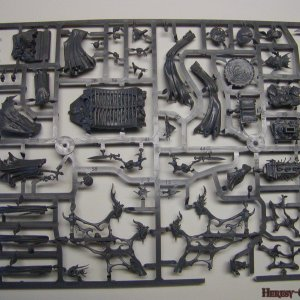 Vampire Counts Coven Throne Sprue 1 [Front]