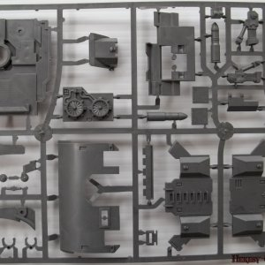 BA Vindicator Demolisher and Outer Armor sprue [Front]
