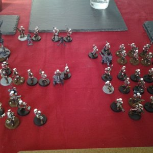 All the Vaughton army so far, imperial guard mordian models. Many conversions to come