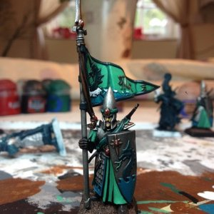 Lothren Sea Guard Standard Bearer