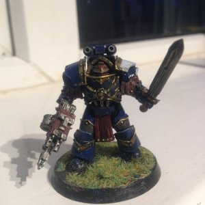 Ultramarine Cataphracti Seargent