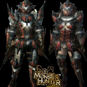 MH3 Rathalos Armor (Blademaster) Render