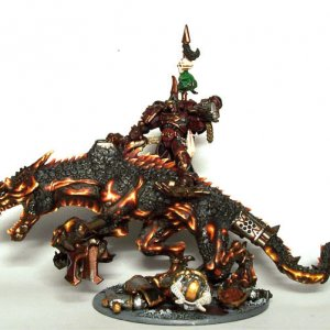 Lord on Daemonic Steed
