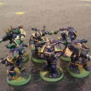 Alpha Legion Havocs.