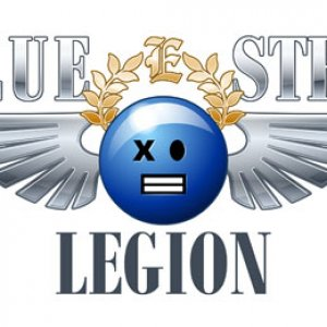 Imperial Guards Blue Steel Legion logo