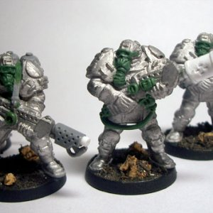 Blue Steel Legion - Armageddon 1st. Command Squad