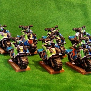 Alpha Legion Bike Squad