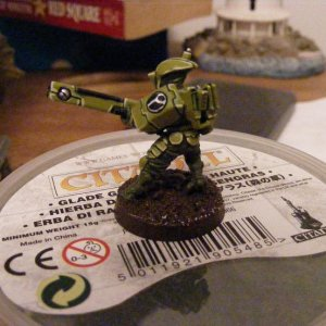 Tau Fire Warrior Test mini Pic 2