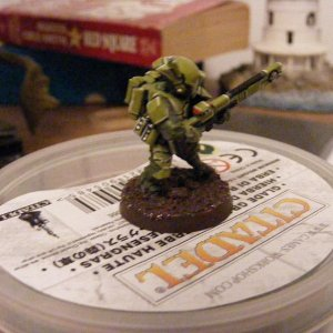 Fire Warrior Test Mini Pic 3