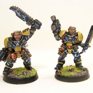 LoD/Imperial Fist scouts