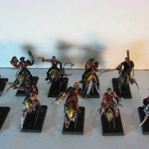 Dark Adeptus rough riders