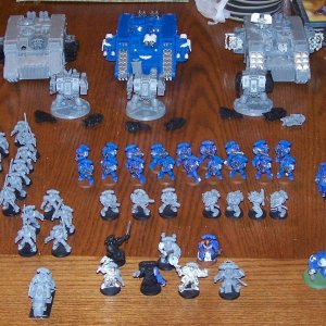Space Marines Army