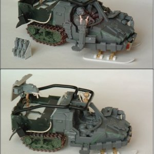 Space Wolves Snowcat