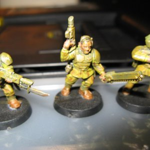 501st Cadian Foot Soldiers