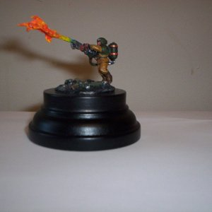cadian shock trooper with flamer