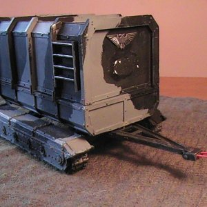 Forgeworld Supply Trailer (covered).