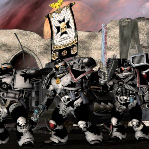 Black Templars ready for battle