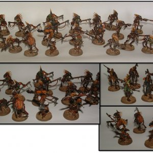 Kroot Mercenary Squad