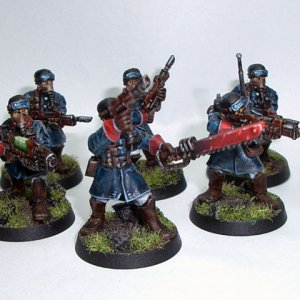 Blue Steel Legion - 1st squad W.I.P.