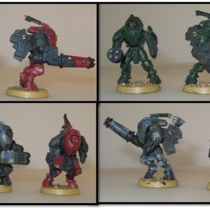 Tau Stealth Suits