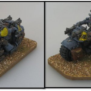 Space Wolves Attack Bike