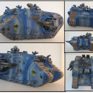 Space Wolves Land Raider