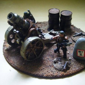 Artillery of Hyberian Imperial Guard