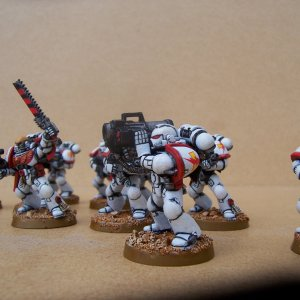 White Scars Space Marine Tactical Squad