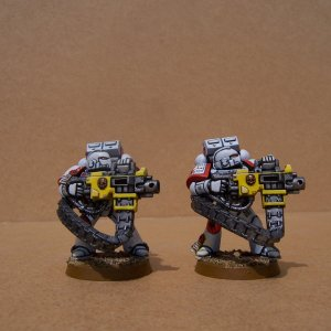 White Scars Space Marine Devastator Squad (Heavy Bolters)